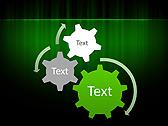 Light Green Vibration Animated PowerPoint Templates - Slide 16