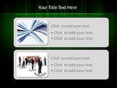 Light Green Vibration Animated PowerPoint Templates - Slide 9