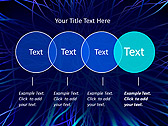 Abstract Blue Net Animated PowerPoint Template - Slide 10