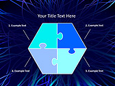 Abstract Blue Net Animated PowerPoint Template - Slide 11