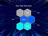 Abstract Blue Net Animated PowerPoint Template - Slide 12