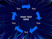 Abstract Blue Net Animated PowerPoint Template - Slide 20