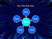 Abstract Blue Net Animated PowerPoint Template - Slide 21