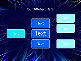 Abstract Blue Net Animated PowerPoint Template - Slide 22