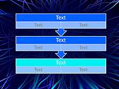 Abstract Blue Net Animated PowerPoint Template - Slide 23