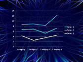 Abstract Blue Net Animated PowerPoint Template - Slide 31