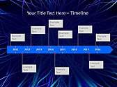 Abstract Blue Net Animated PowerPoint Template - Slide 6
