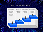 Abstract Blue Net Animated PowerPoint Template - Slide 7