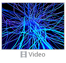 Abstract Blue Net Video