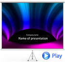 Shades Of Lilac Animated PowerPoint Template
