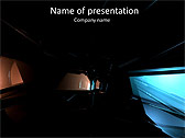 Simple Black Abstraction Animated PowerPoint Templates - Slide 1
