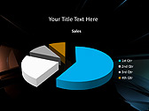 Simple Black Abstraction Animated PowerPoint Templates - Slide 18