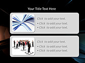 Simple Black Abstraction Animated PowerPoint Templates - Slide 9