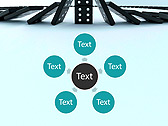 Playing Domino Animated PowerPoint Template - Slide 21