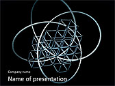 Geometric Figure Animated PowerPoint Template - Slide 1