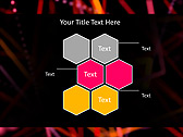 Colorful Net Animated PowerPoint Template - Slide 12