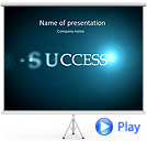 Path To Success Animated PowerPoint Templates