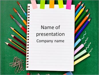 School Things PowerPoint Template
