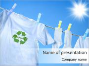 Recycling Sign PowerPoint Templates