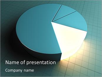 Light Effect Chart PowerPoint Template