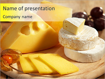 Tasty Cheese PowerPoint Template
