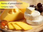 Tasty Cheese PowerPoint Templates