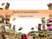 Book Stock PowerPoint Templates