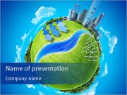 Eco Planet Sjablonen PowerPoint presentaties