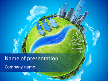 Eco Planet PowerPoint Template