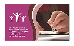 0000051660 Business Card Template