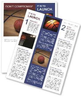 basketball newsletter template smiletemplates com