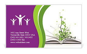 0000056390 Business Card Template