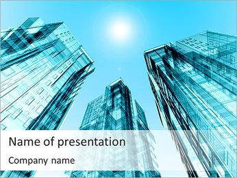 Modern Skyscrapers PowerPoint Template