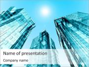 Modern Skyscrapers PowerPoint Templates