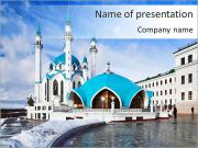 Beautiful Mosque PowerPoint Templates