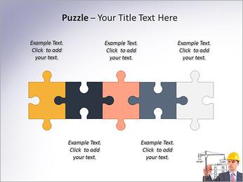 Construção de Negócios Modelos de apresentações PowerPoint - Slide 21