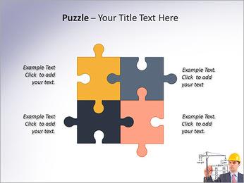 Construção de Negócios Modelos de apresentações PowerPoint - Slide 23
