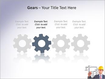 Construção de Negócios Modelos de apresentações PowerPoint - Slide 28