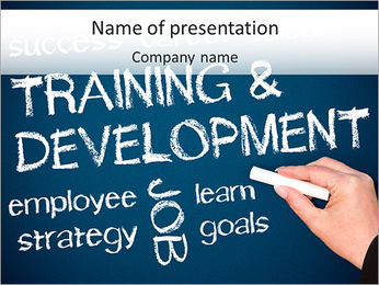 Tranining And Development PowerPoint Template