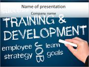 Tranining e Desenvolvimento Modelos de apresentações PowerPoint