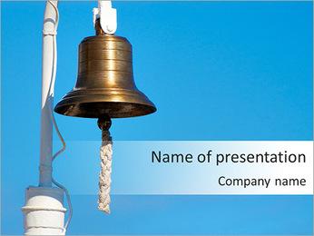 Metal Bell PowerPoint Template