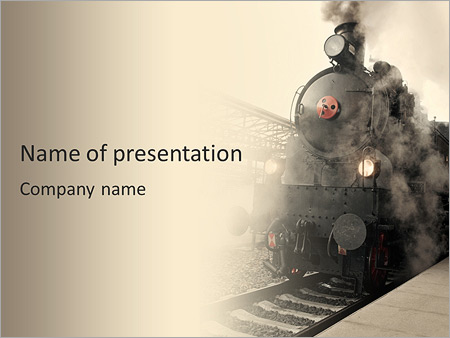 Ancient train powerpoint template backgrounds id 0000006067 ancient train powerpoint templates toneelgroepblik Choice Image