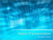 Голубой огонек Шаблоны презентаций PowerPoint