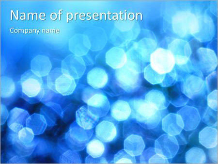 Bleu service Modèles des présentations  PowerPoint