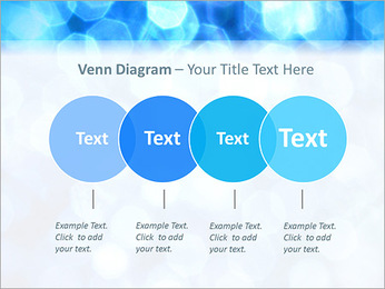 Bleu service Modèles des présentations  PowerPoint - Diapositives 12