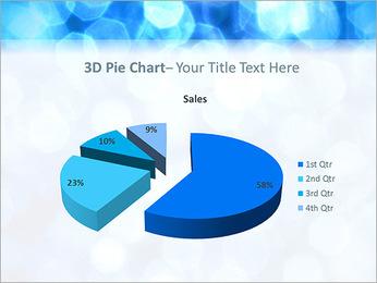 Bleu service Modèles des présentations  PowerPoint - Diapositives 15