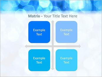 Bleu service Modèles des présentations  PowerPoint - Diapositives 17