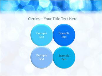 Bleu service Modèles des présentations  PowerPoint - Diapositives 18