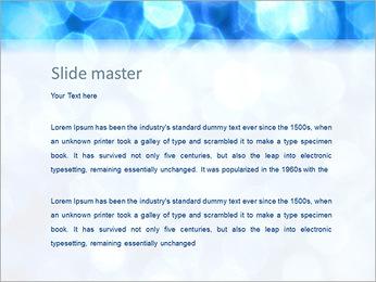 Bleu service Modèles des présentations  PowerPoint - Diapositives 2