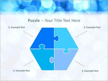 Bleu service Modèles des présentations  PowerPoint - Diapositives 20